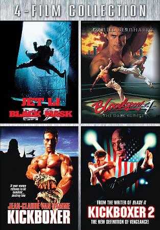 BLACK MASK/BLOODSPORT 4/KICKBOXER/AME BY COOK,DALE (DVD)